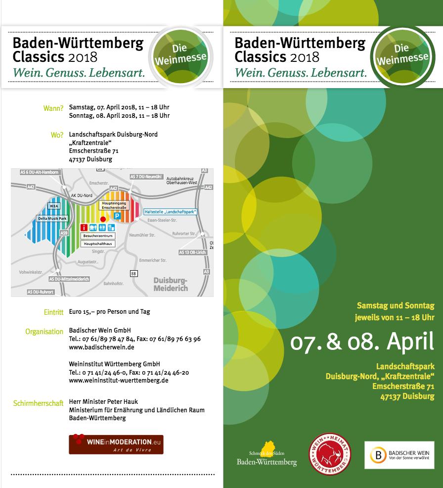 BW Classics Duisburg Weingut Faber Freiburg