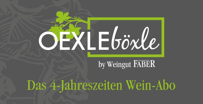 Oexle Böxle Weinabo Weingut Faber Freiburg