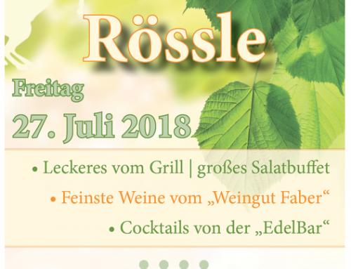 Gasthaus Rössle Jubiläumsparty