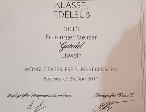 Auszeichnungen beim Gutedel Cup 2019 in Badenweiler