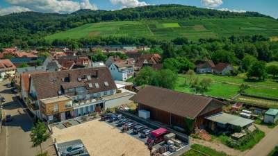 Panorama Weingut Faber Freiburg